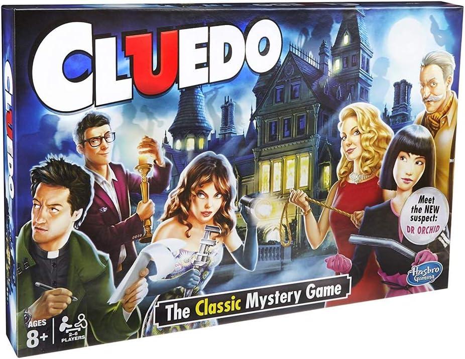 New Clue do The Classic Mystery Juego de Mesa: Amazon.es: Juguetes y juegos