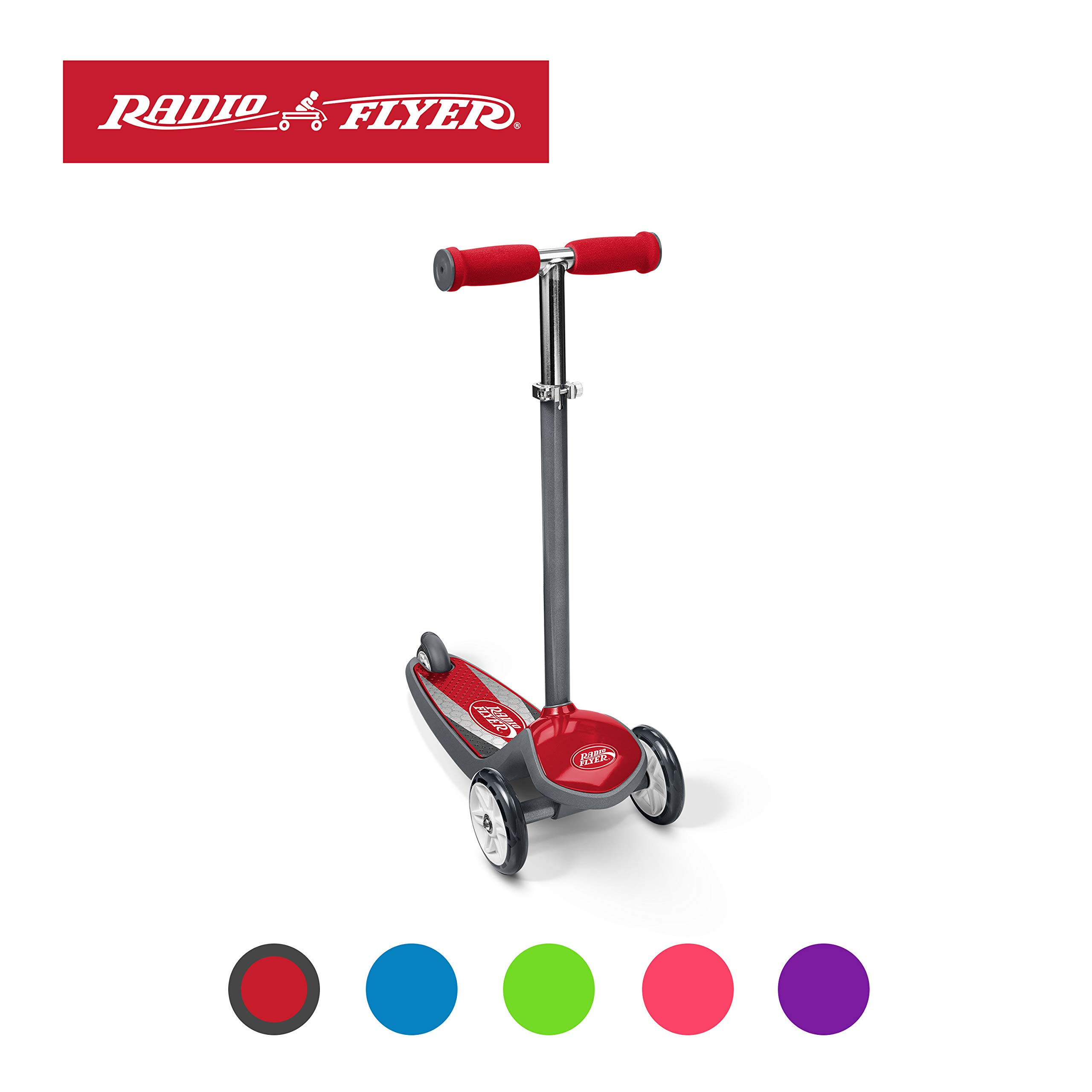 Radio Flyer Color FX EZ Glider 3 Wheel Scooter, Red by Radio Flyer