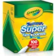 Crayola Super Tips Washable Markers 100 Count Arts & Crafts