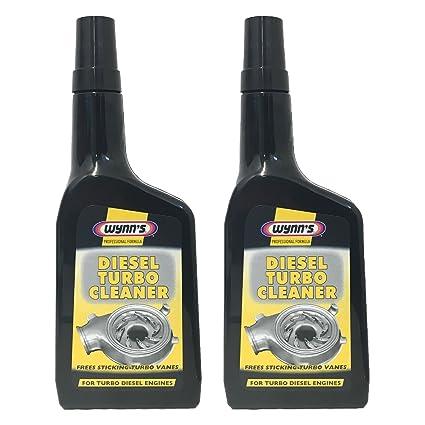 """Wynns - Fórmula profesional limpiadora """"Diesel Turbo Cleaner"""", ..."""