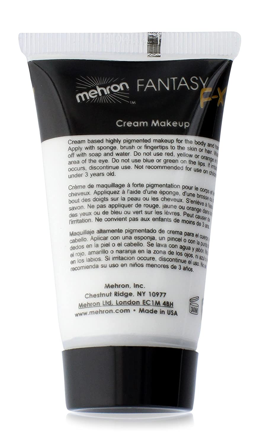 Amazon mehron makeup fantasy fx water based face body amazon mehron makeup fantasy fx water based face body paint 1 oz white beauty biocorpaavc
