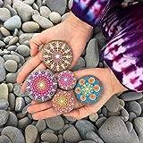 Muhuyi 14 Pieces Mandala Rock Dotting Tools Nail