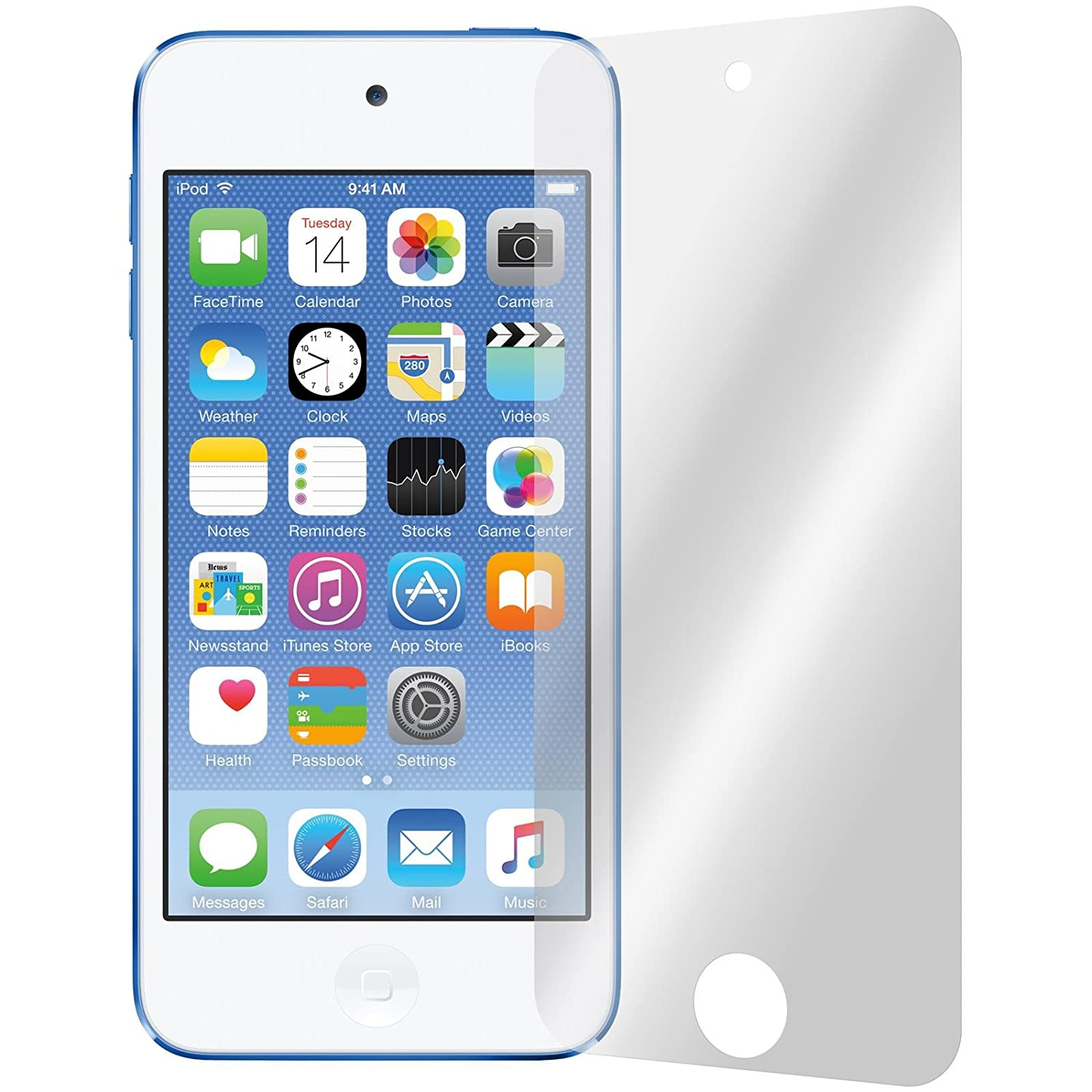 6 x PhoneNatic Screen Protectors for Apple iPod touch 5/6 Protection Film clear