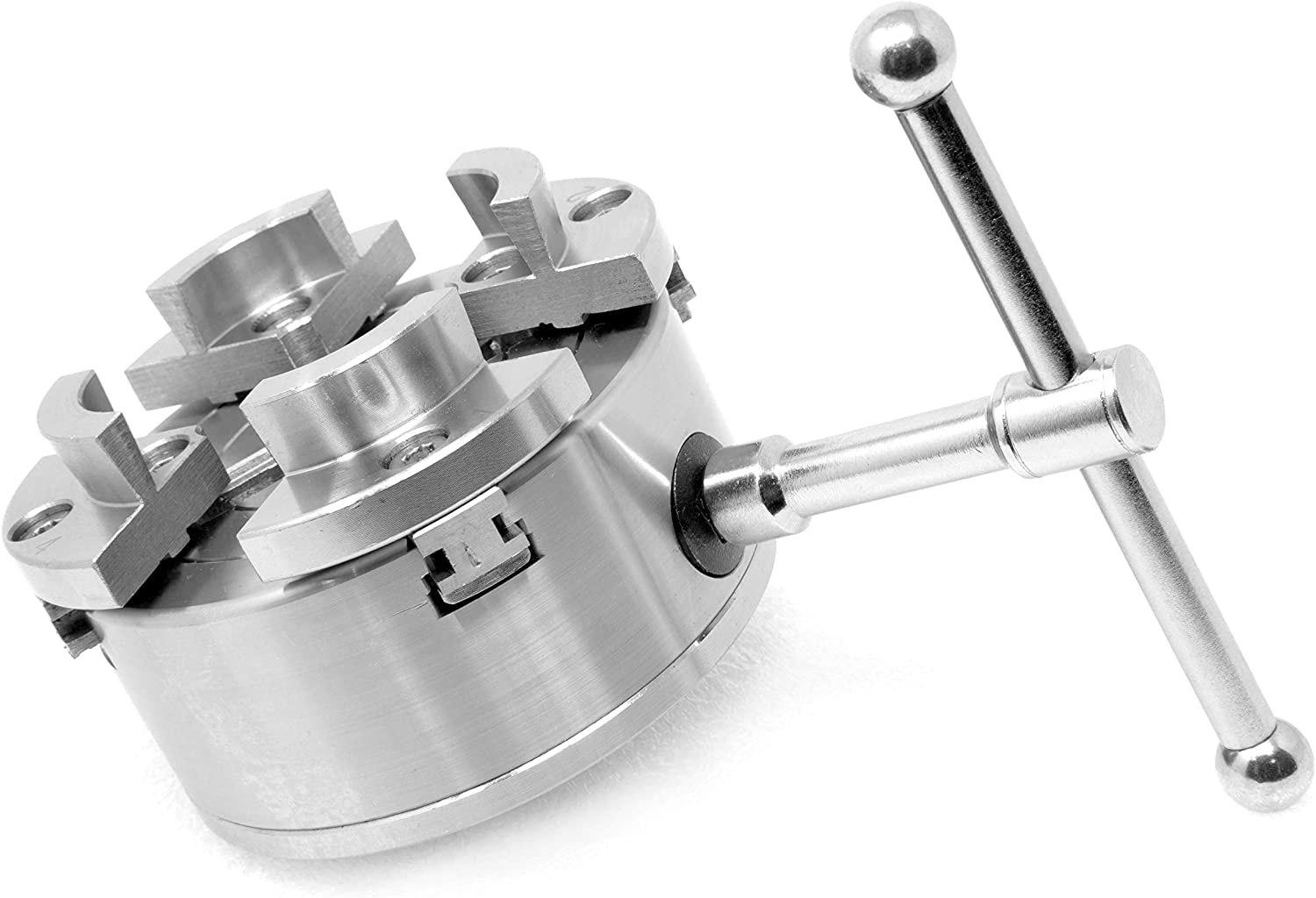WEN LA434D 2.5-Inch Extended Lathe Chuck Jaws with Internal Square Grip and External Dovetail Profile