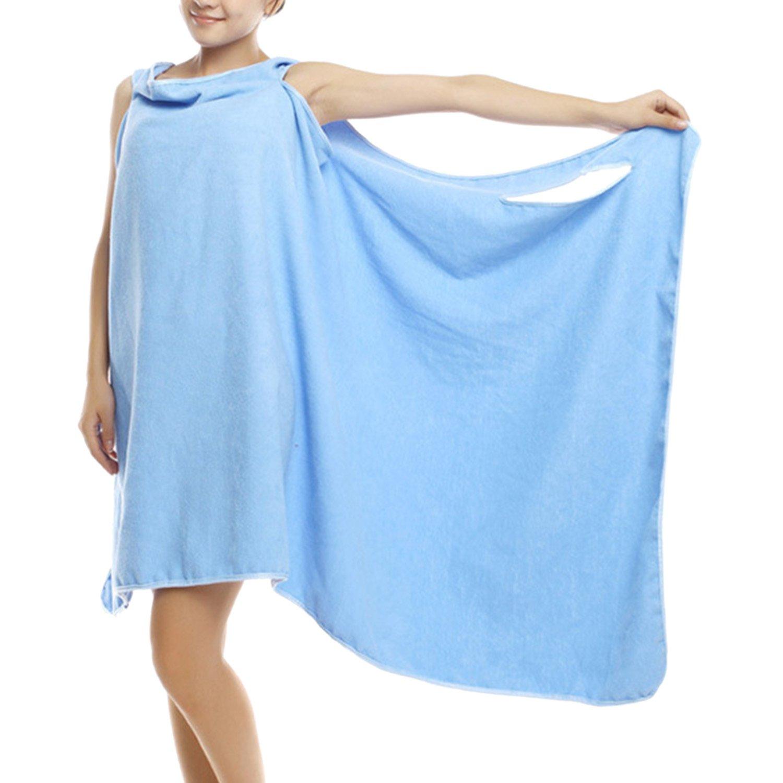 Sasairy Mesdames Vest Toweling Dressing robe peignoir capuche robe de  chambre douce et super moelleux avec 695b0eb4df1