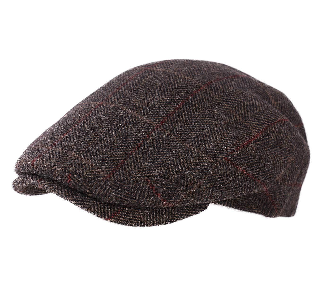 MYMYU Cappello in pelle unisex Moda Cappello ottagonale per uomo e ... 83a27092013c