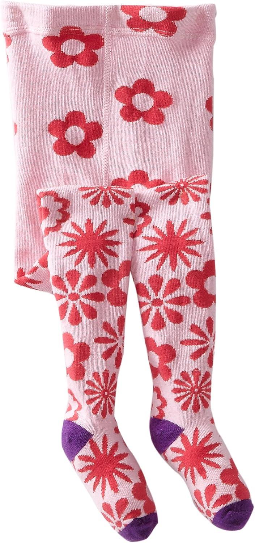 Jefferies Socks Little Girls  Flurry Flower Tight