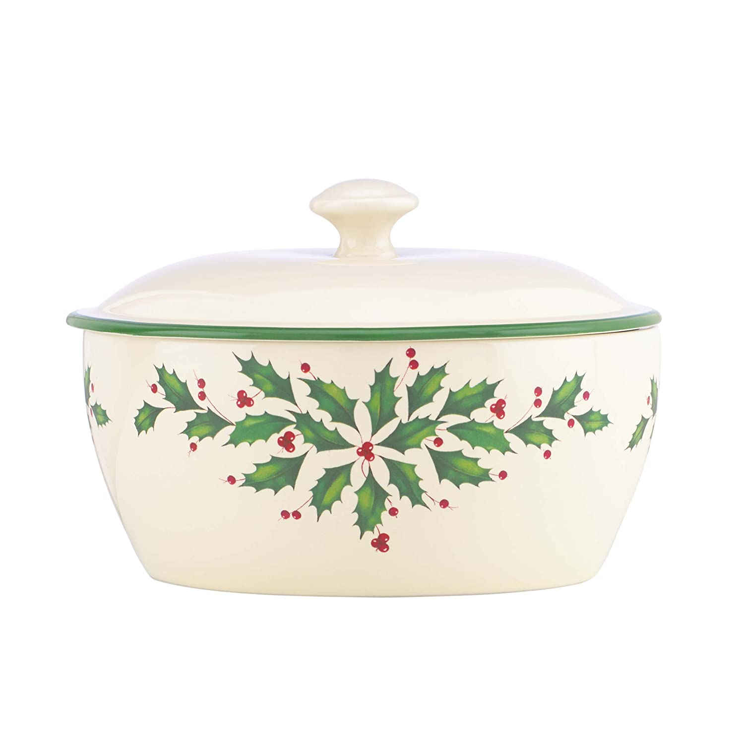 Christmas Holly Casserole Dishes