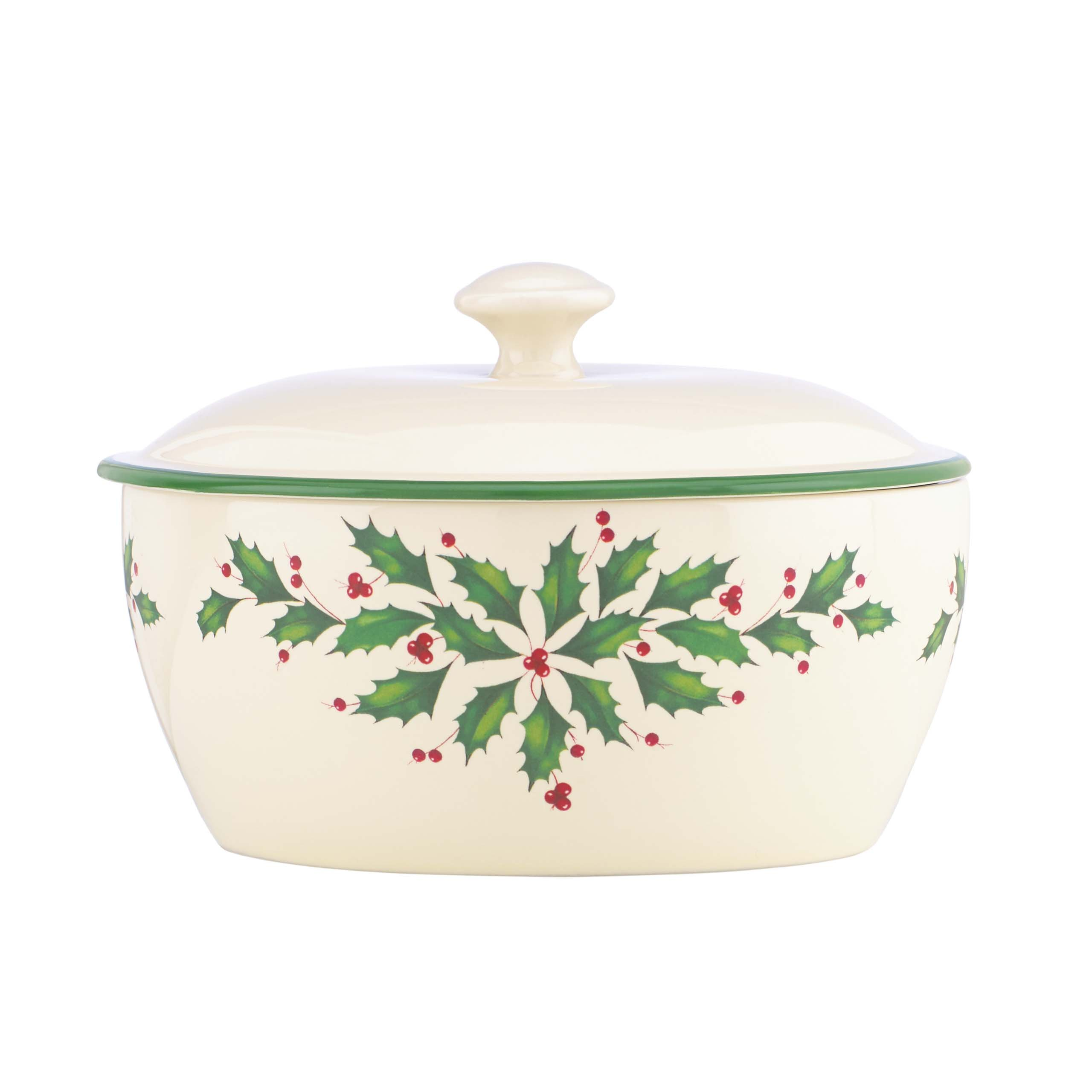 Lenox Holiday Covered Casserole by Lenox
