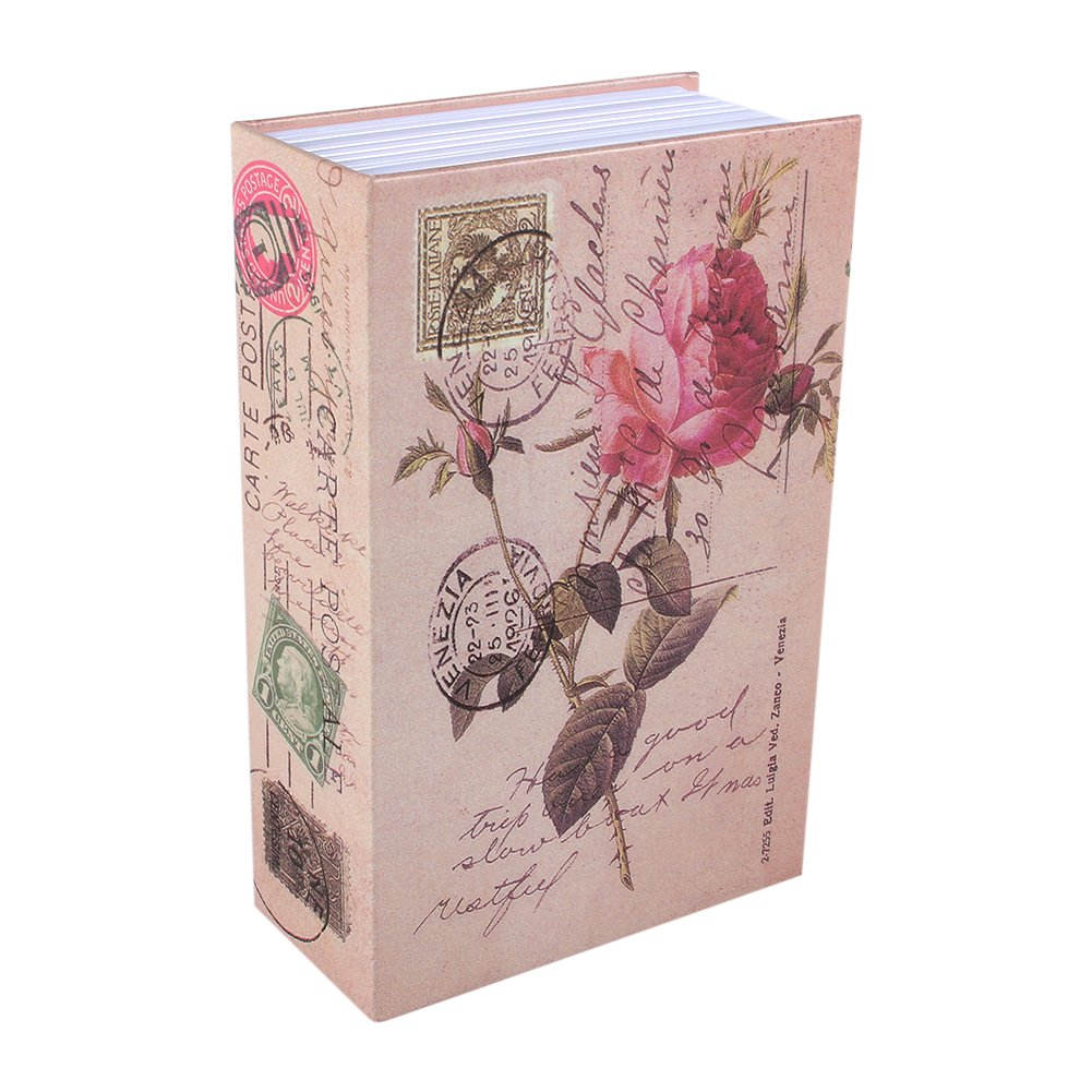 Caja de Seguridad Libro para Poner Joyas, Monedas, Dinero, Objetos de Valor (