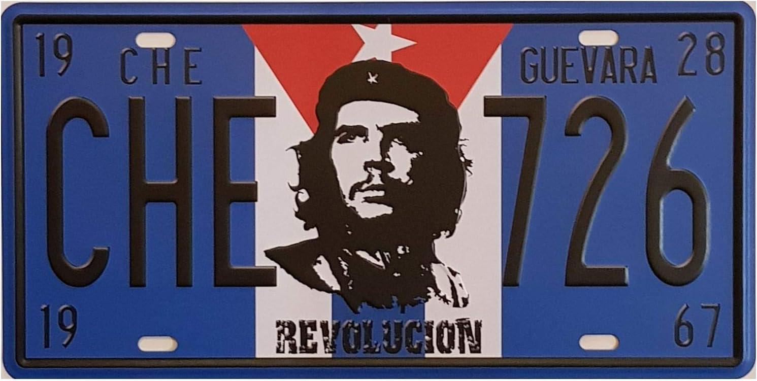 Mr Vintage Kennzeichen Che Guevara Motiv Revolution 30 X 15 Cm Amazon De