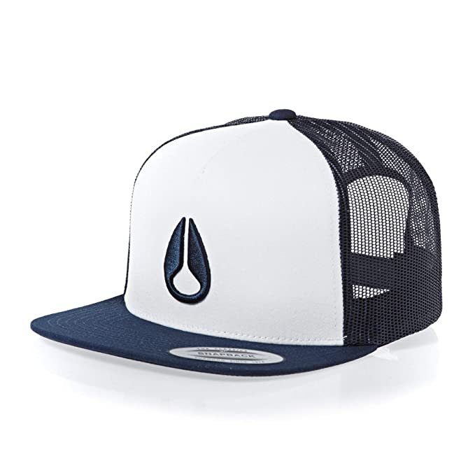 Nixon Deep Down Trucker Hat White/Navy One Size: Amazon.es: Ropa y ...