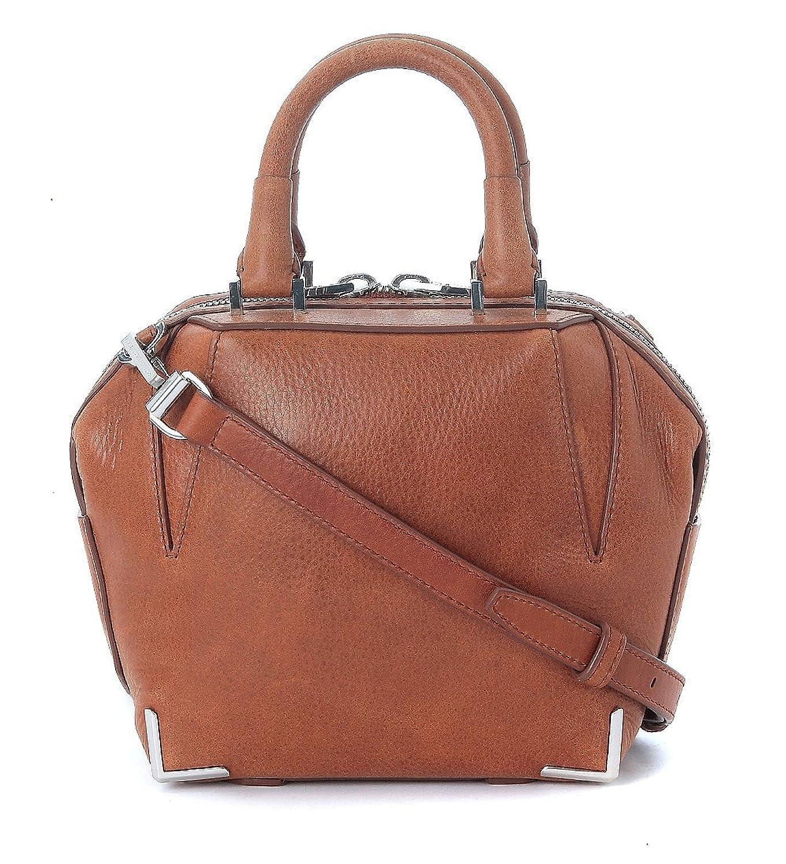 Alexander Wang Women's Alexander Wang Mini Emile Bowler Bag In Brown Tumbled Leather Brown