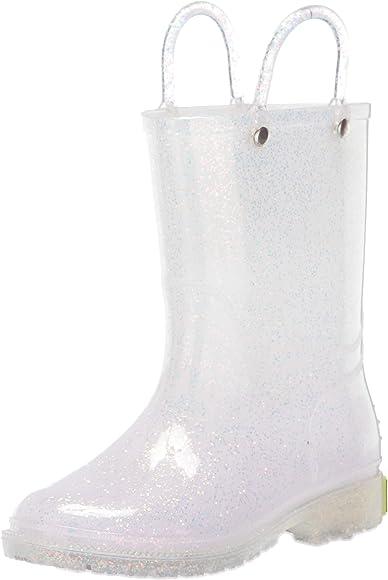 Western Chief Girls/'   Glitter Rain Boot