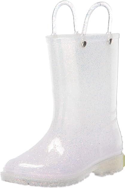 Western Chief Kids Glitter Waterproof Rain Boot: