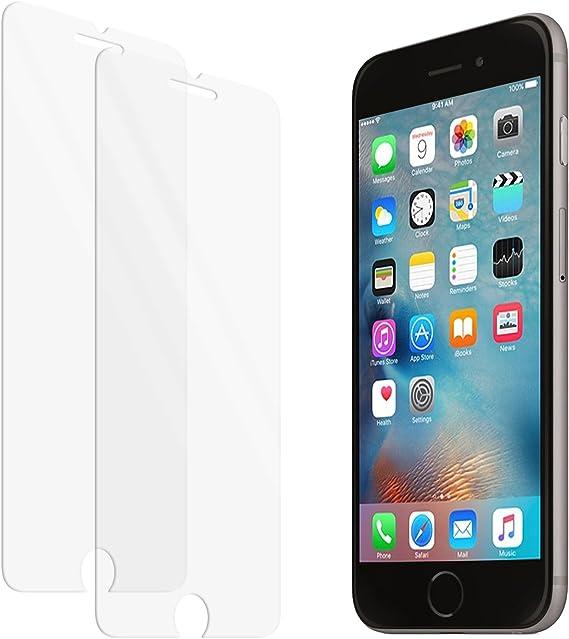 Protector de pantalla de vidrio templado zenmo 2-Pack Premium para iPhone 6s / 6 (4,7 pulgadas) compatible 3DTouch: Amazon.es: Electrónica