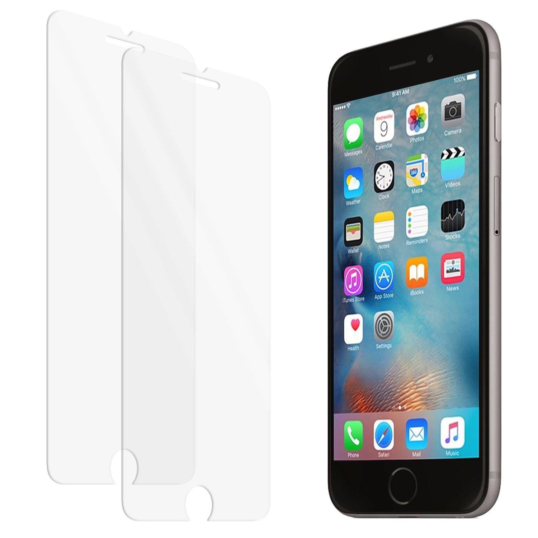 Protector de pantalla de vidrio templado zenmo Pack Premium para iPhone s