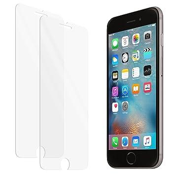 ee68d52f24c Protector de pantalla de vidrio templado zenmo 2-Pack Premium para iPhone 6s  / 6 (4,7 pulgadas) compatible 3DTouch: Amazon.es: Electrónica