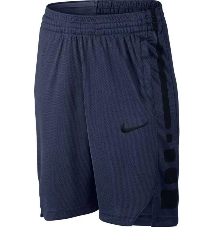 Nike Boys' Elite Stripe Short (Navy/Black) by Nike