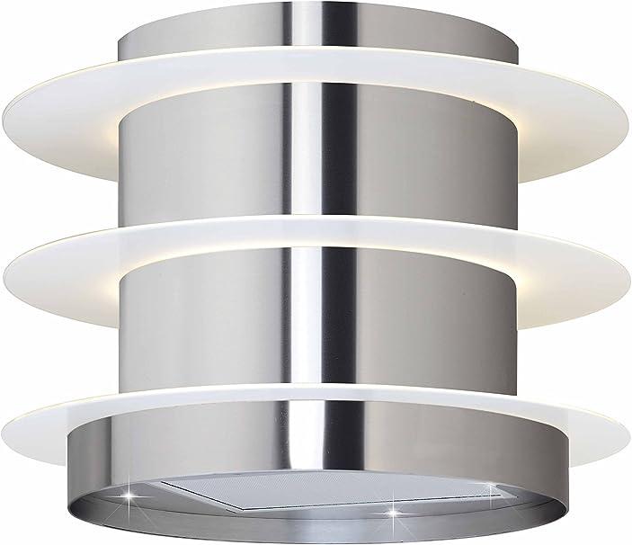 50 cm suspendido por cable isla campana en cristal y acero con mando a distancia jsi 4380 – 50-ix: Amazon.es: Grandes electrodomésticos