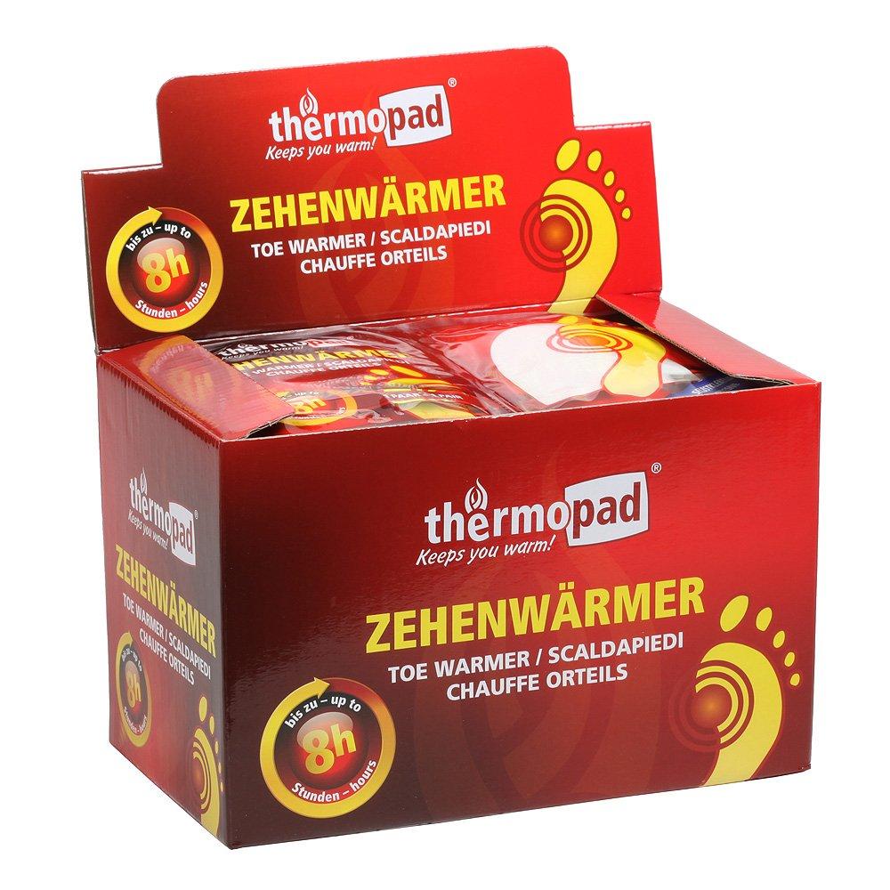 Thermopad Zehenwärmer - Calentadores de pies, color beige, talla 30 Pairs 78320