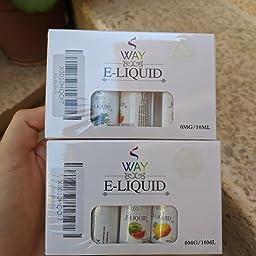 VVAY Vaper E Liquido para Cigarrillos Electrónicos sin Nicotina 5 ...