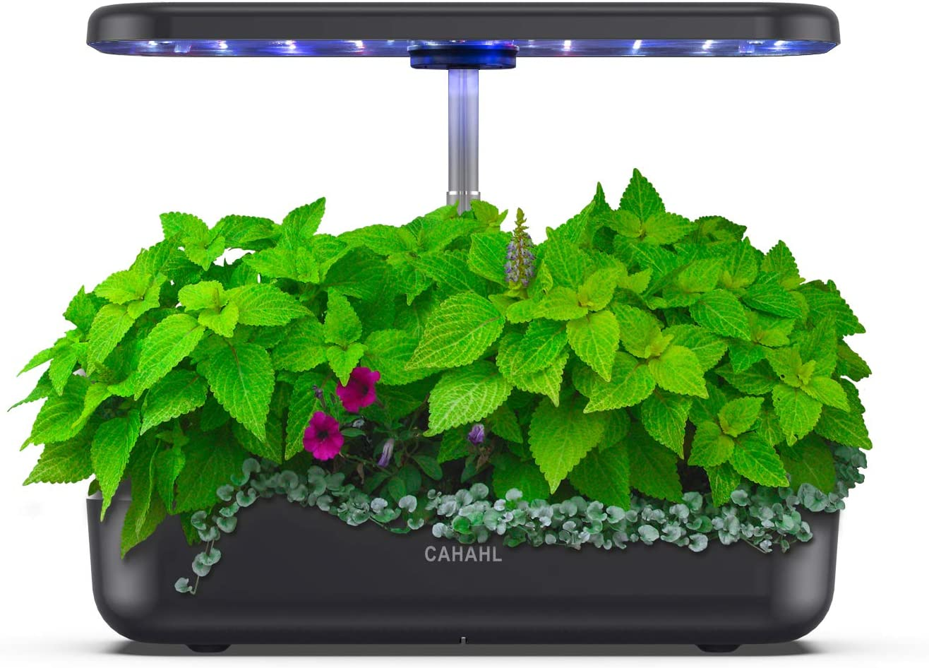 Indoor Hydroponic Garden 12Pods Hydroponics Growing System Indoor Herb Garden Kit with LED Grow Light, Smart Garden Planter for Home Kitchen, Height Adjustable(No Seeds)