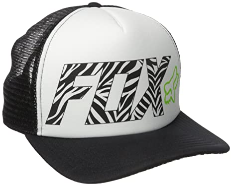 Fox Racing Juniors Phoenix Trucker Hat, Black, One Size