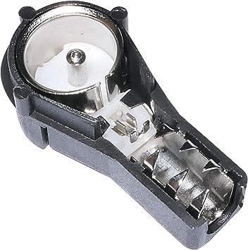 AERZETIX: Adaptador Conector Macho ISO para Antena autoradio Cable RG58 C10010