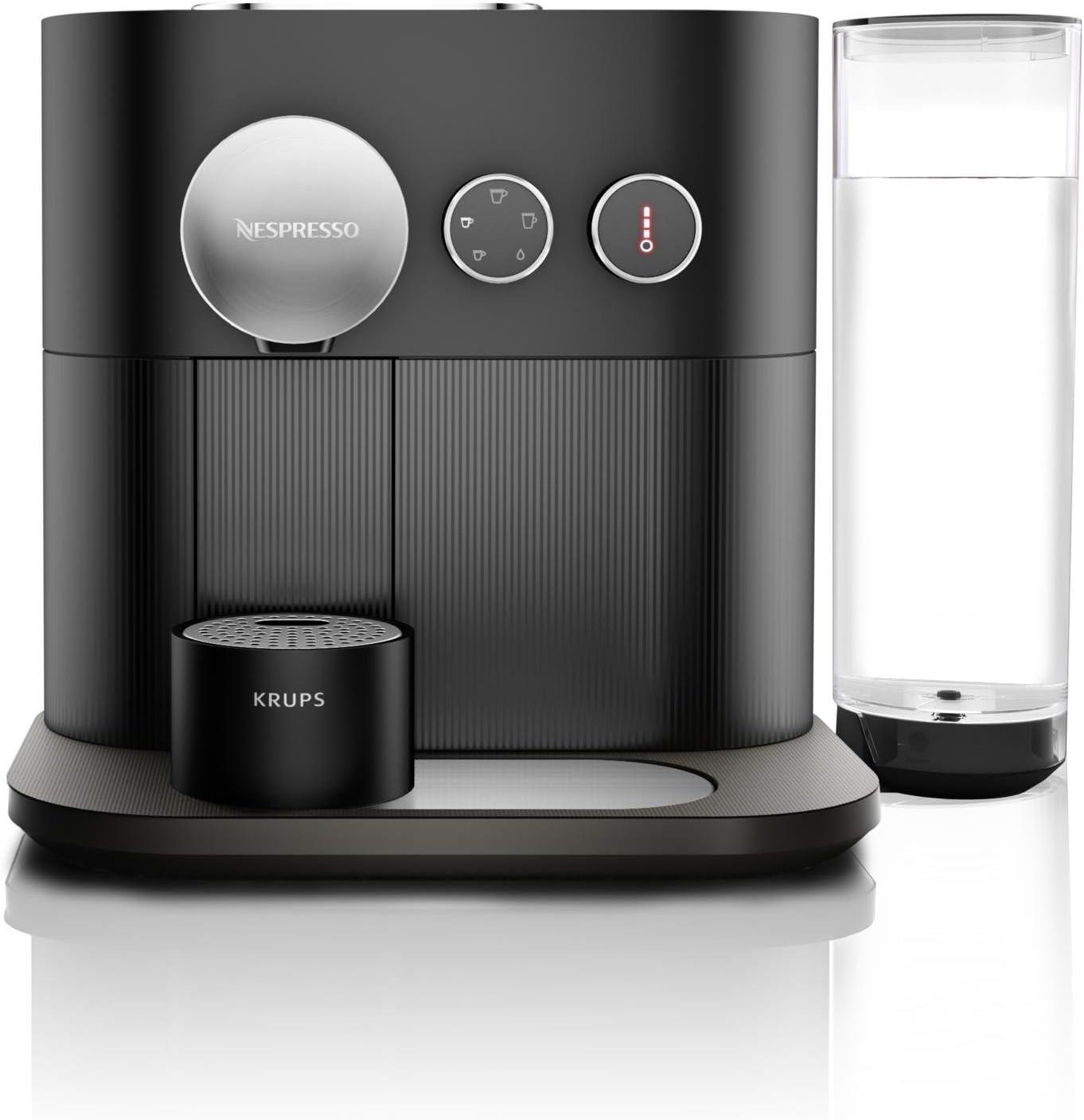 Krups Nespresso yy2794fd Expert - Cafetera eléctrica, Negro: Amazon.es: Hogar