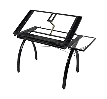 amazon studio designs 10097 futura craft station with folding Deluxe Art Master Desk image unavailable