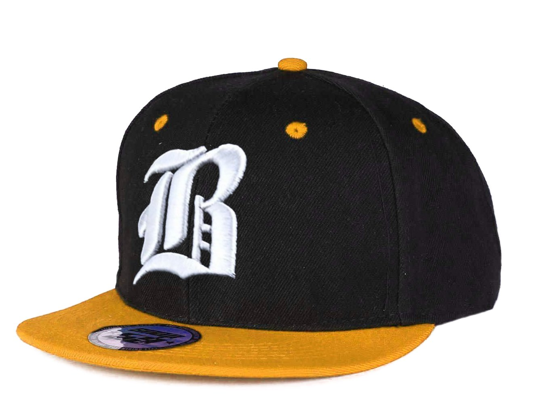 Gorra de b/éisbol Snapback 3d G/ótica Hip-hop multicolor B Black White Regular