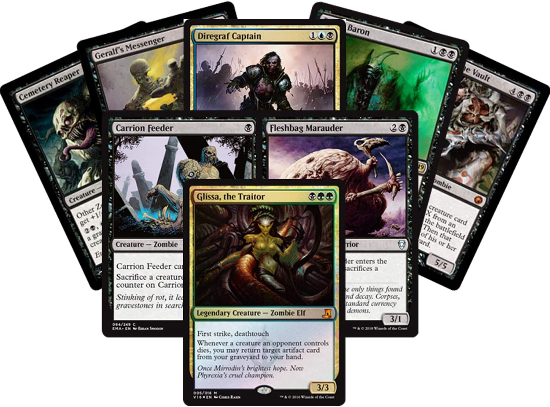 The Gathering 25 Card Mythic Rare Lot Magic MTG