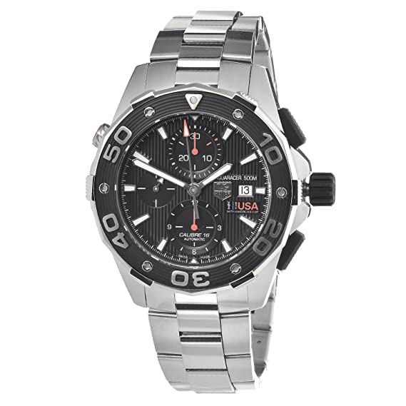 BA0872 Aquaracer 500M Oracle Team USA - Reloj cronógrafo automático: Amazon.es: Relojes