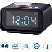 Lyker Digital FM Radio Loud Alarm Clock