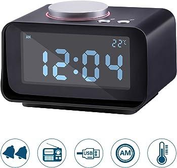 Lyker Digital FM Radio Loud Alarm Clock