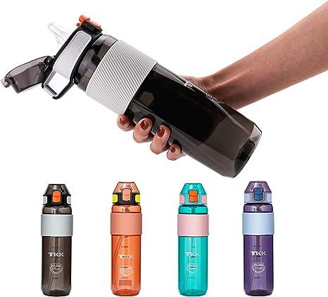 Water Bottle Drink Bottle with Leak Proof Lid Flip Up Sports Gym Portable Bottle
