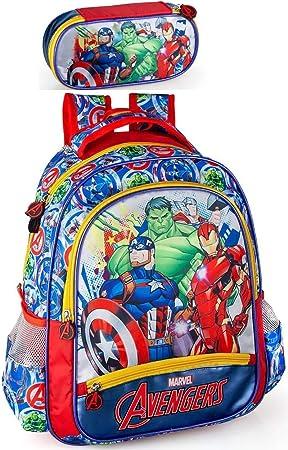 Marvel ́s The Avengers Mochila y estuche para niños