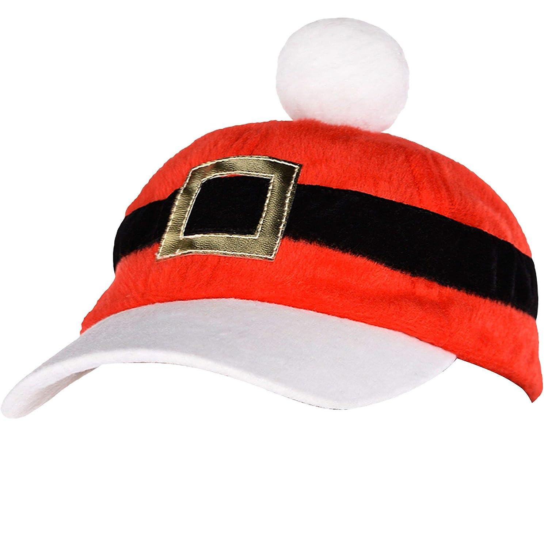 Amazon.com  Santa Baseball Hat  Kitchen   Dining a4bb7f80baa0
