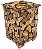 Tabouret ou table d'appoint design rodins de bois