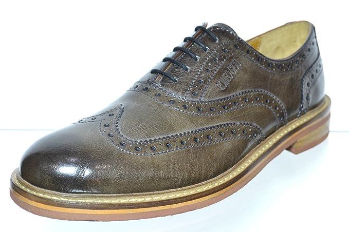 Romeo Gigli SCARPE UOMO ESTIVE PELLE CODA DI RONDINE COLORE STONE Taglia  scarpa 45  Amazon.it  Abbigliamento e8da8c4eba6