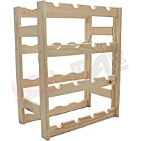MODO24 wine rack, wood, natural