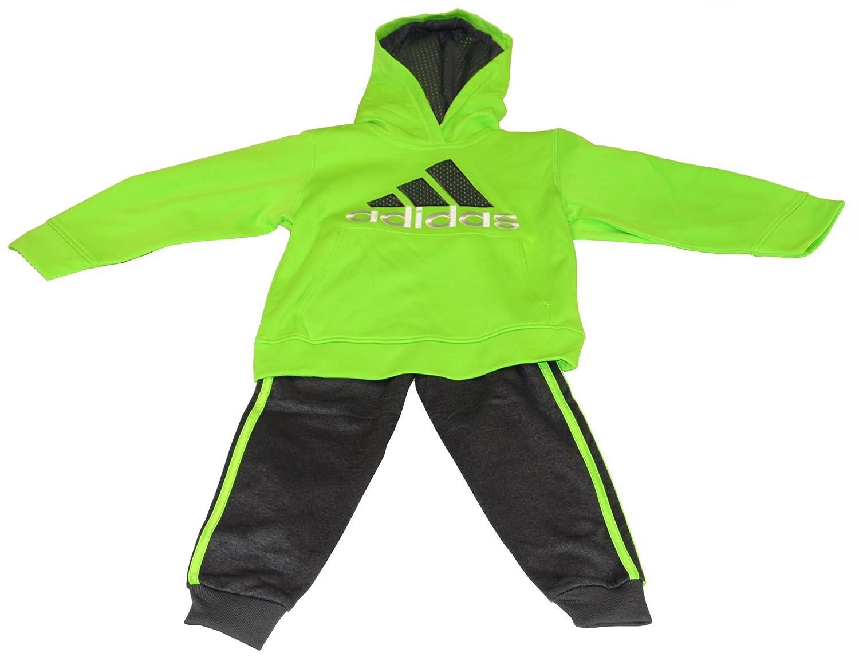 Adidas Boys's Tracksuit Sweat Suit Activewear 2 Piece Set
