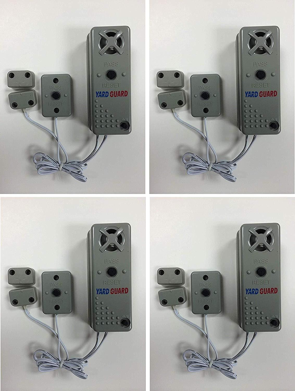 SmartPool YG03 YardGard Gate/Door/Window Alarm (Pack of 4) by SmartPool