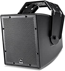 """JBL Professional Awc62 All-Weather Compact 2-Way Coaxial Loudspeaker with 6.5"""" LF, Black (AWC62-BK)"""
