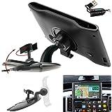 ChargerCity EasyBlade 17mm Ball Connection Car CD Slot Mount for Garmin Nuvi Drive DriveSmart GPS Brackets Cradles 4x 5x 6x 50 51 57 57LM 57LMT 58 58LMT 60 60LM 61 65 66 67 68 25xx LM LMT LMTHD GPS