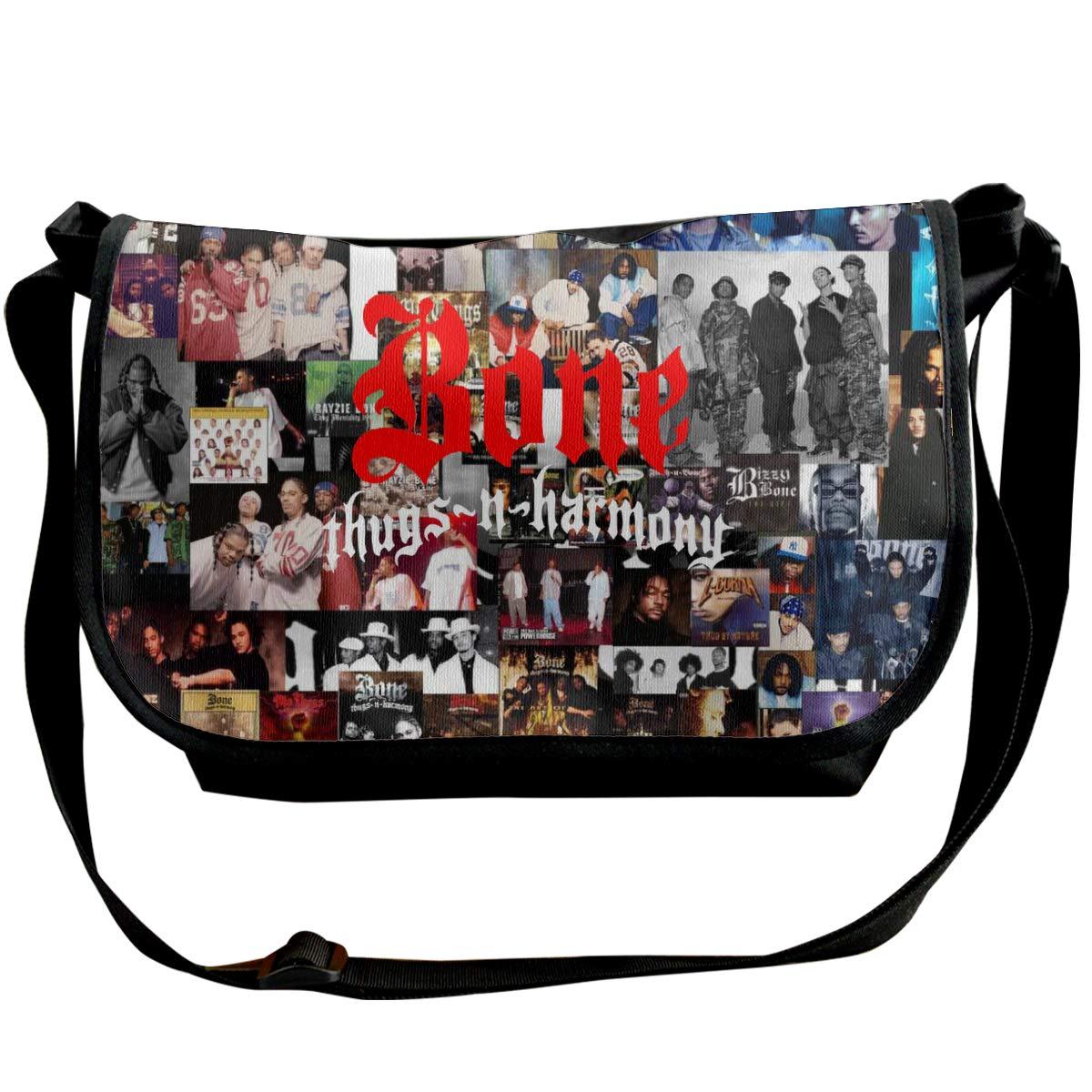 Shoulder Bag For All-Purpose Use Classic Bone Thugs N Harmony Messenger Bag