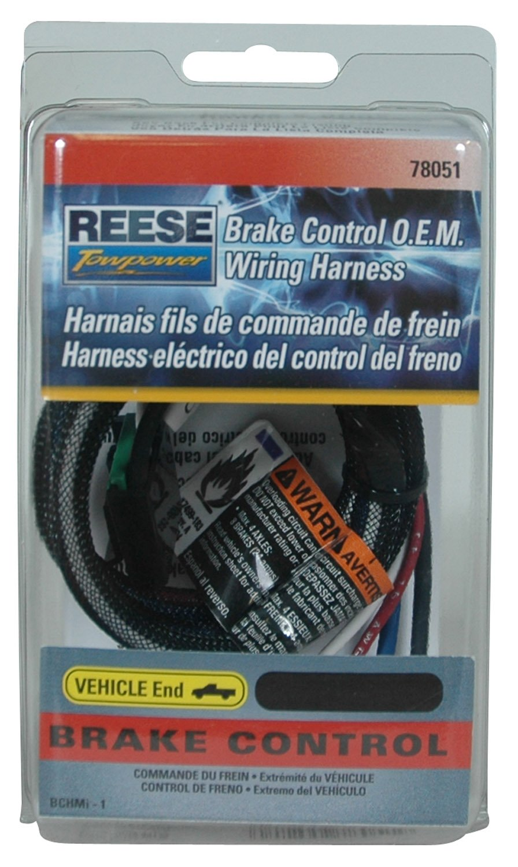 amazon com reese towpower 78051 brake control wiring harness for rh amazon com hayman reese wiring harness for tow bar hayman reese wiring harness