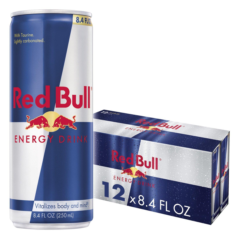 Red Bull Energy Drink 8.4 Fl Oz, 12 Pack