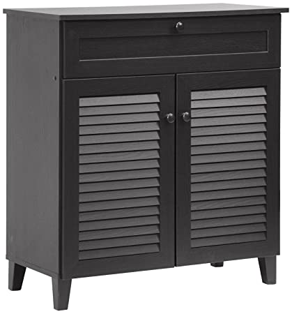 01f32276c98 Amazon.com  Baxton Studio Calvin Shoe-Storage Cabinet
